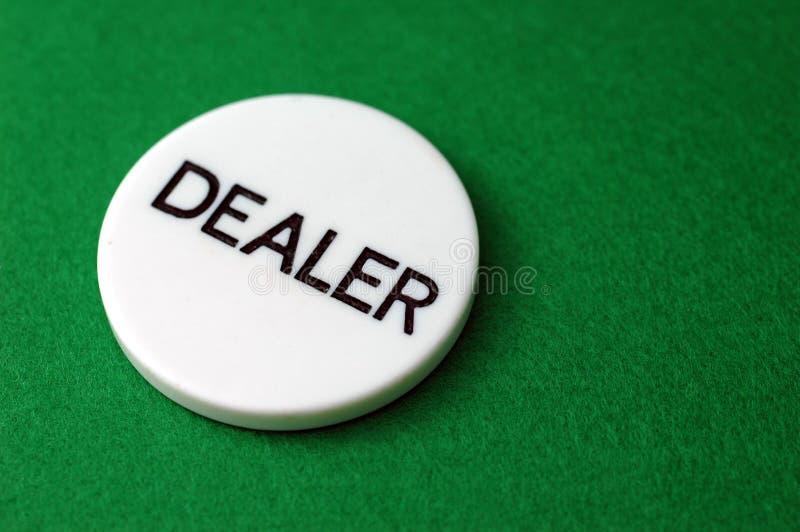 покер торговца обломока стоковое фото