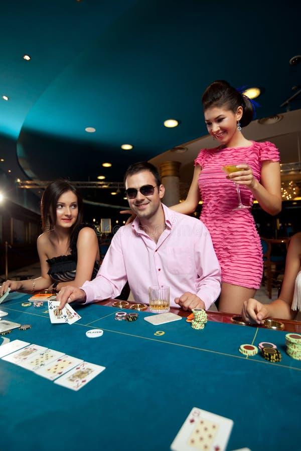 покер 3 добросердечного человека образования выигрывая стоковые изображения