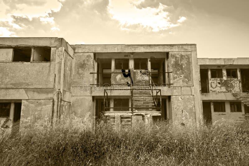 Покинутая гостиница стоковые фото