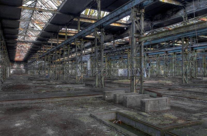 Покинутая зала, больше изображает доступное стоковая фотография rf