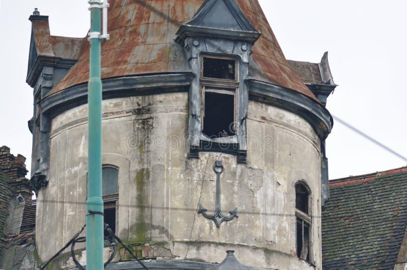 Покинутая квартира стоковая фотография