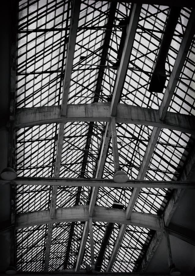 Покинутая крыша стоковая фотография rf