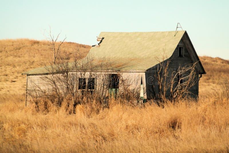 покинутая дом стоковое изображение