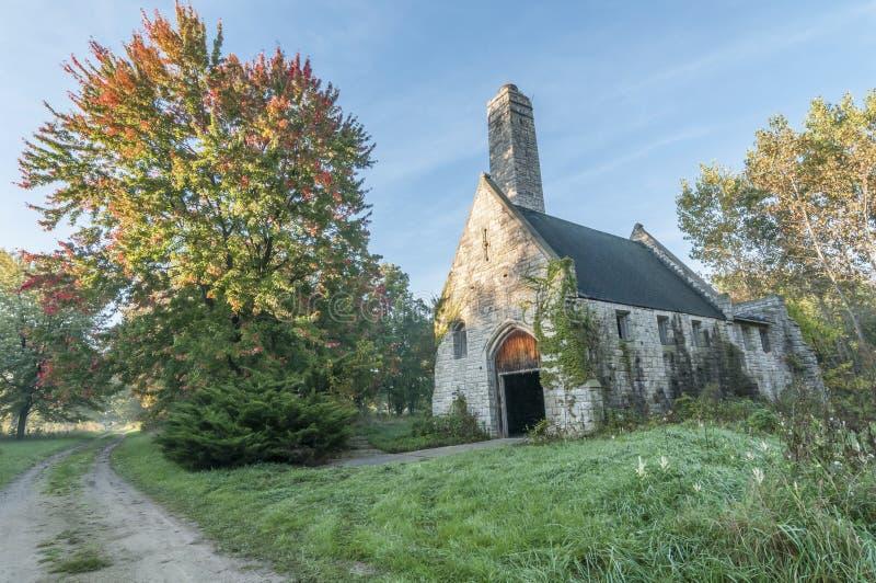 Покинутая церковь стоковые фото