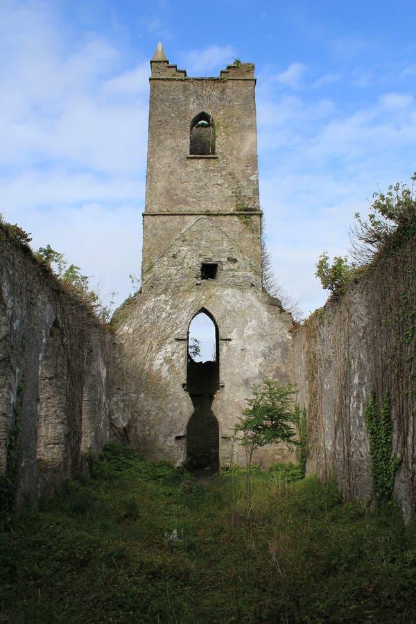 Покинутая церковь, Kilkenney, Ирландия стоковые фото