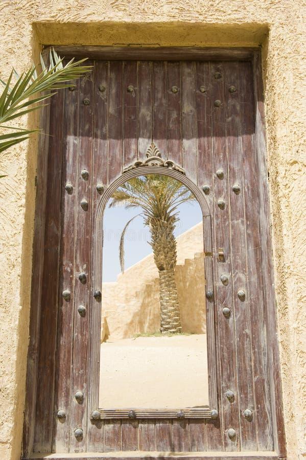покинутое арабское село стоковая фотография
