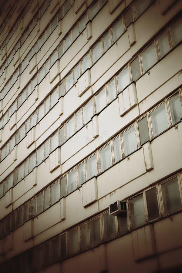 Покинутое офисное здание в Берлине стоковое изображение