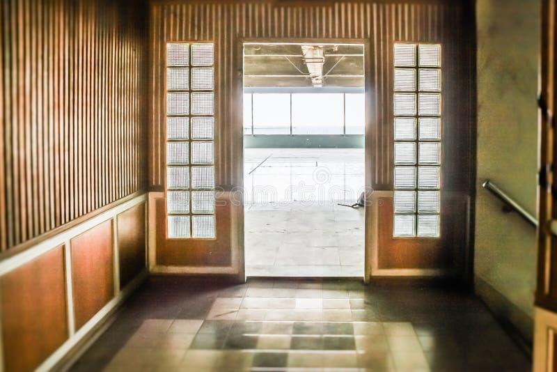 Покинутое селитебное здание стоковое изображение