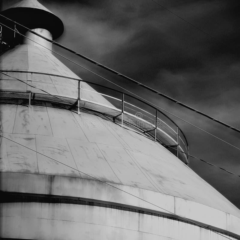 покинутое силосохранилище, стоковые фотографии rf