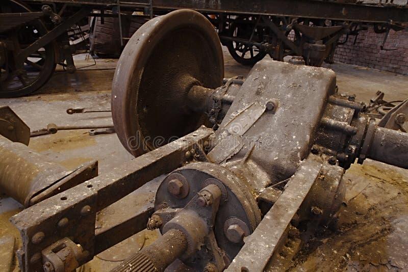 Покинутые железнодорожные корабли стоковые фото