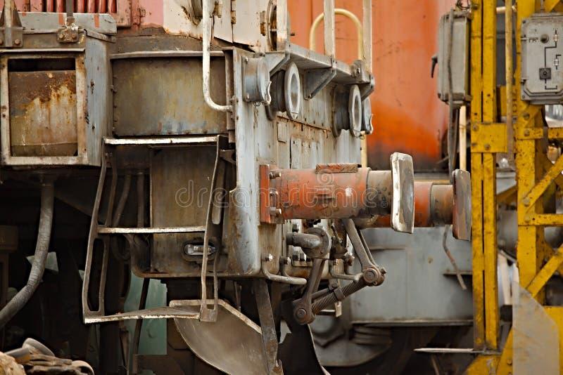 Покинутые железнодорожные корабли стоковое изображение