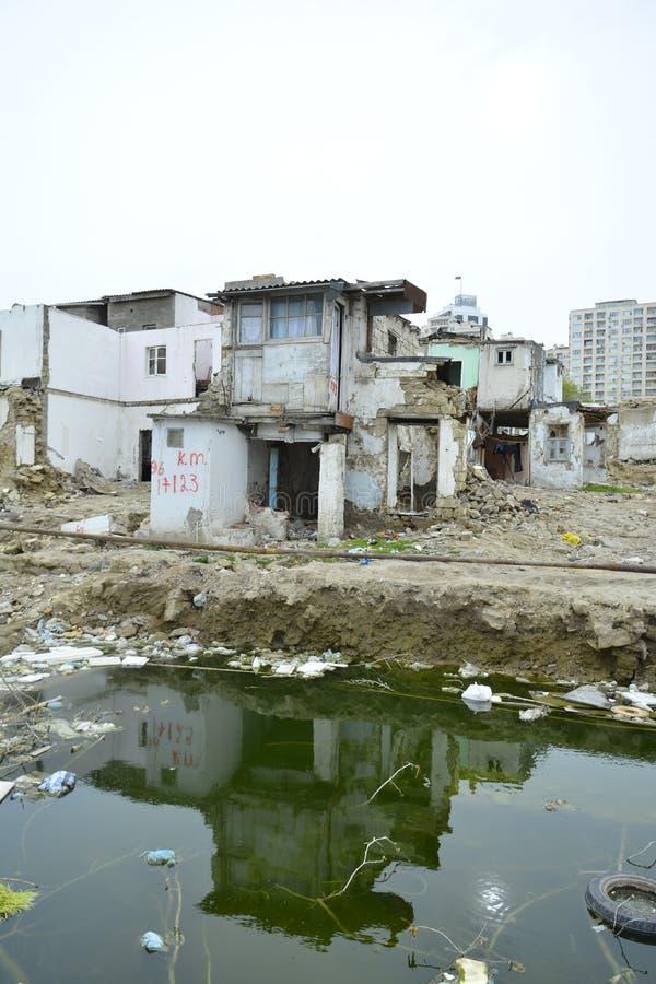 Покинутые места или руины стоковое фото