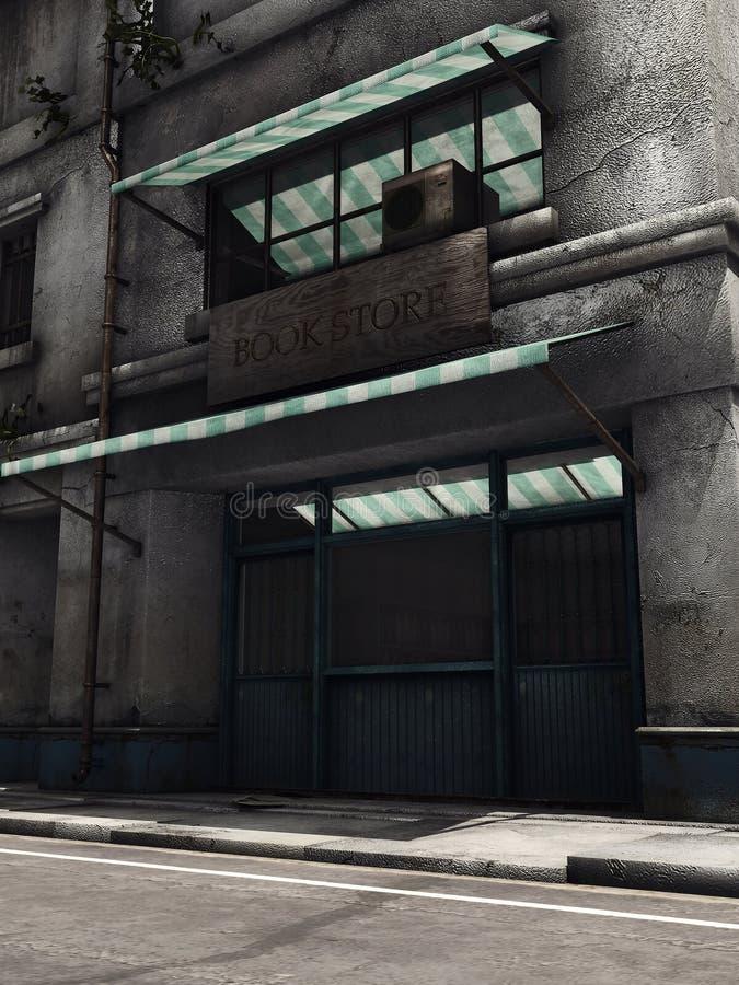 покинутый магазин бесплатная иллюстрация