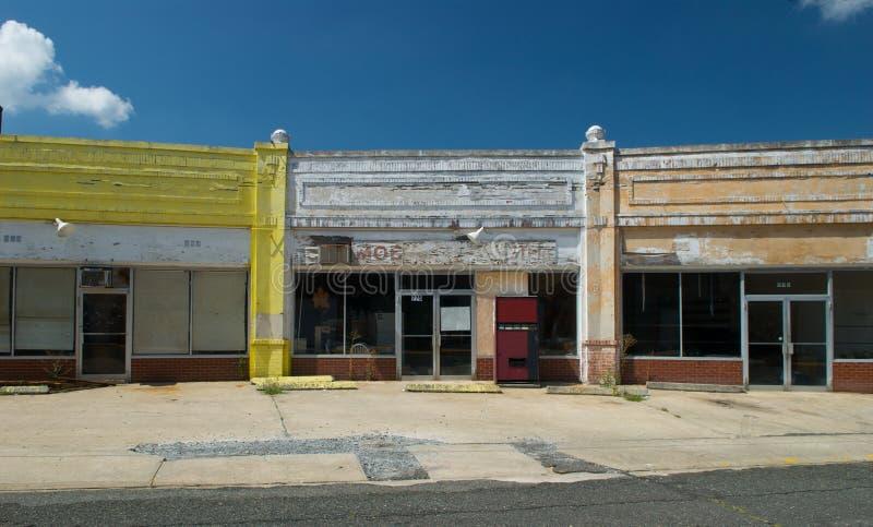 покинутый магазин стоковые изображения rf