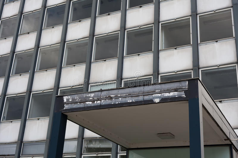 Покинутый офис стоковая фотография