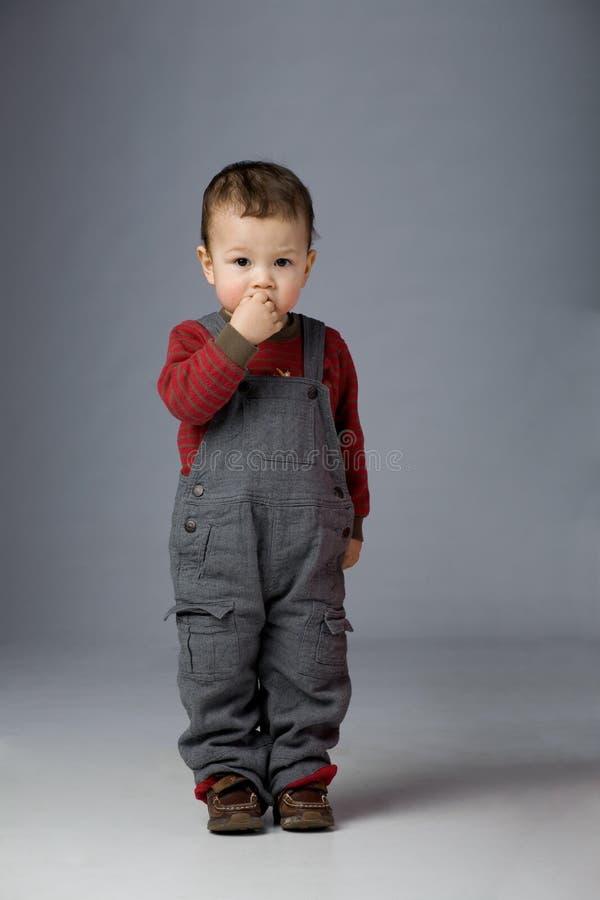 покинутый ребенок стоковая фотография rf