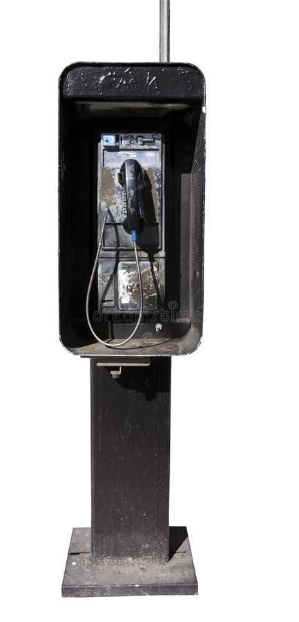 Покинутый таксофон стоковые фото