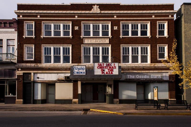 Покинутый театр Вирджинии - Кентукки стоковые изображения