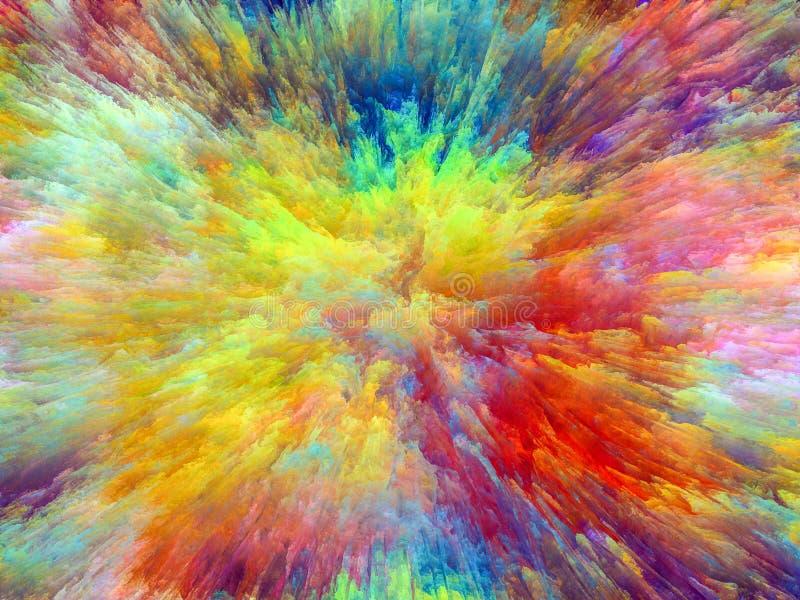 Покрасьте взрыв стоковое изображение