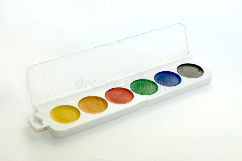 покрасьте воду стоковое фото
