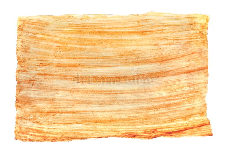 покрасьте желтый цвет воды текстуры краски красный стоковое изображение