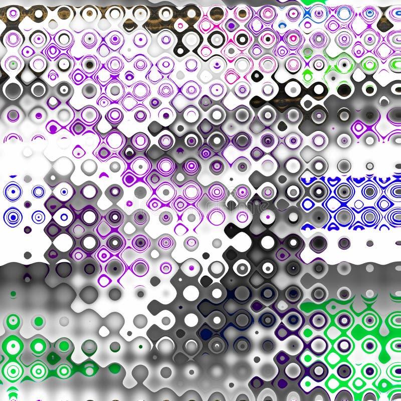 Покрасьте красочные поставленные точки пятна Элемент Grunge для современного дизайна Эмоциональное искусство абстрактная предпосы бесплатная иллюстрация