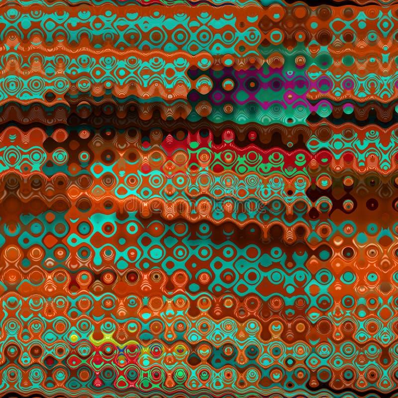 Покрасьте красочные поставленные точки пятна Элемент Grunge для современного дизайна Эмоциональное искусство Абстрактная предпосы иллюстрация штока