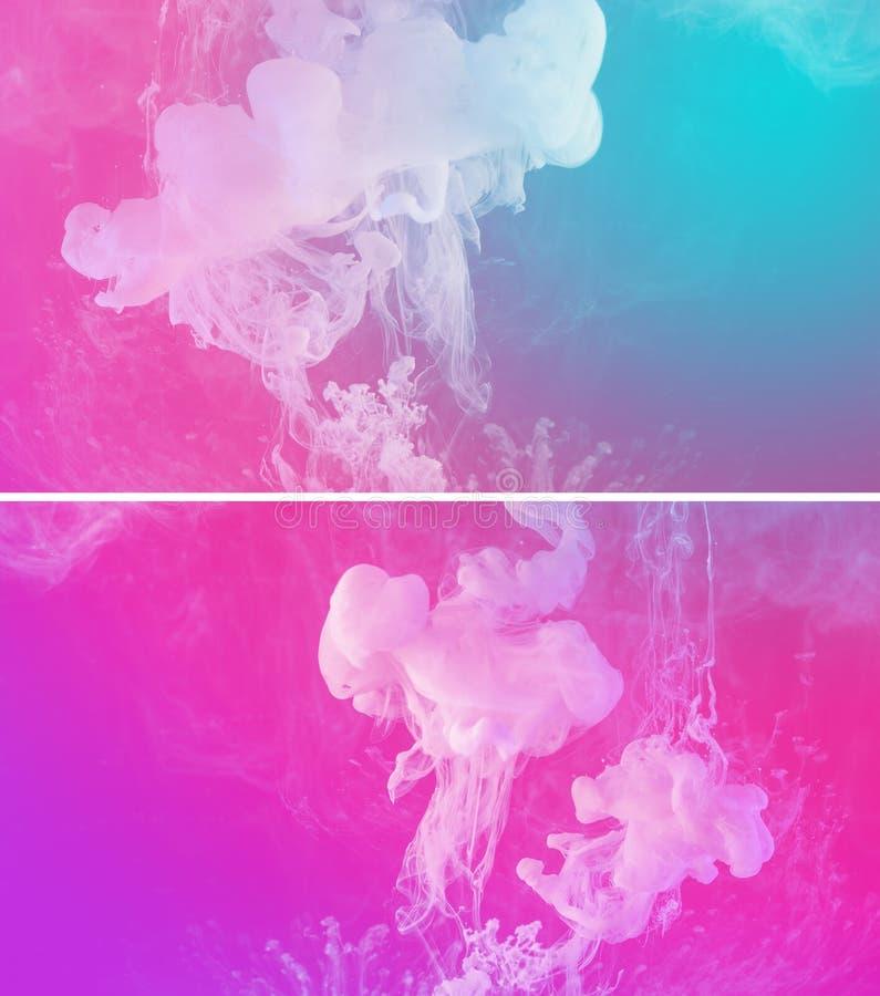Покрасьте предпосылку расслоины абстрактную стоковая фотография rf