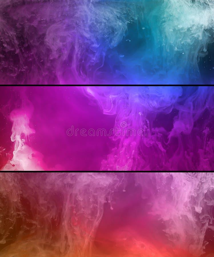 Покрасьте предпосылку расслоины абстрактную стоковое фото rf