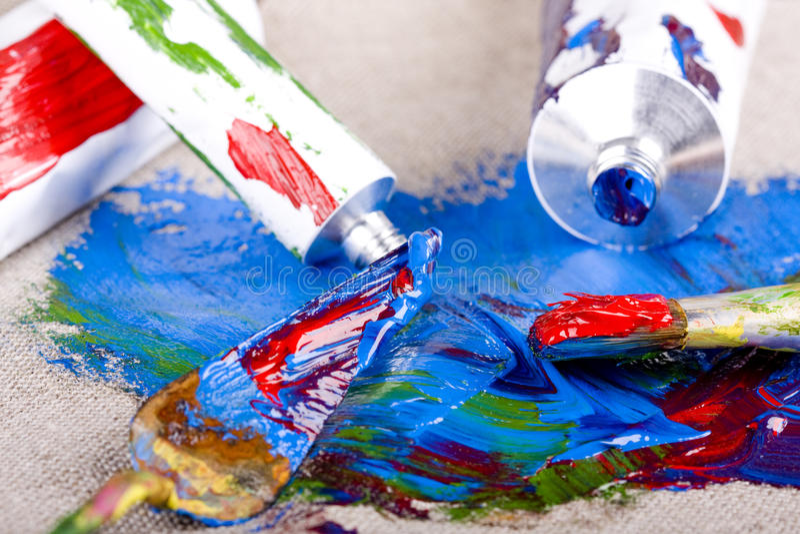 покрасьте пробки стоковые фото
