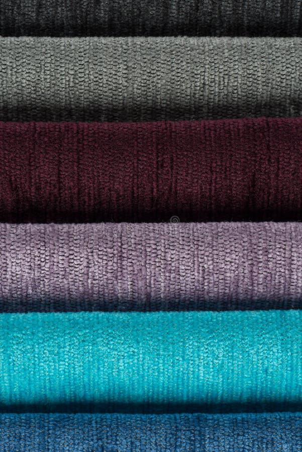 Download покрасьте текстуру образцов ткани Multi Стоковое Фото - изображение насчитывающей multi, каталог: 40582544