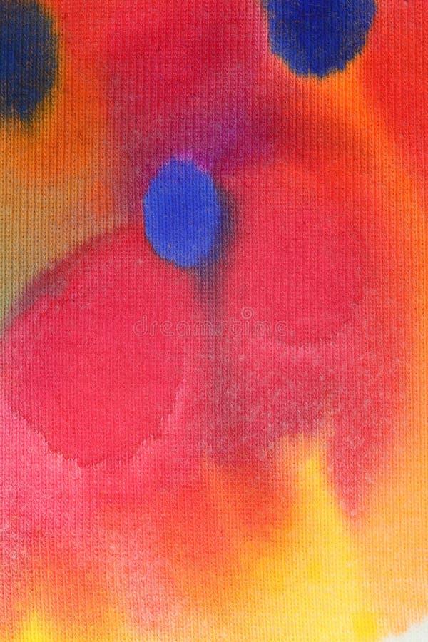 покрасьте тканье стоковое изображение