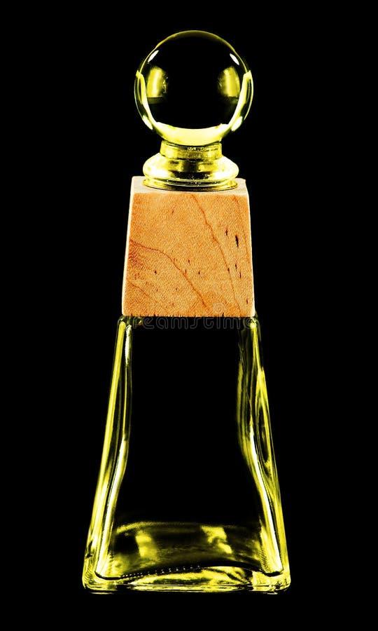 покрашенная бутылка стеклянной стоковое фото rf
