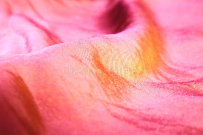 Покрашенная деталь ткани стоковое фото