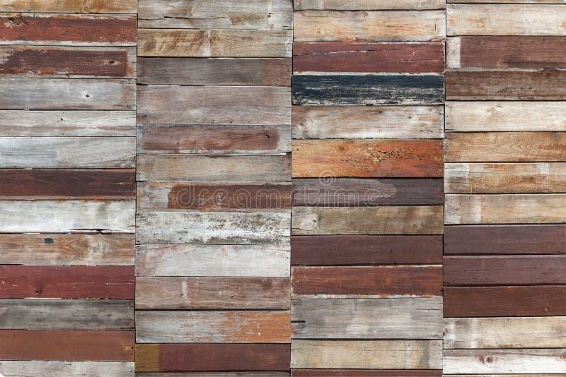 Покрашенная деревянная предпосылка планки стоковое фото