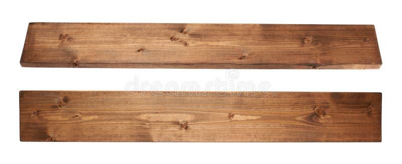 Покрашенная изолированная планка доски древесины сосны стоковые фото