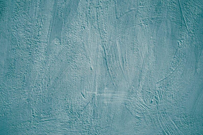 Покрашенная поверхность голубой серой бетонной стены в современном городском стиле Карта, знамя с пустым пространством Поцарапанн стоковые изображения rf