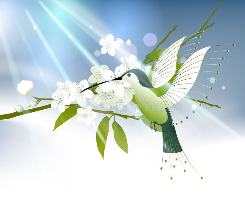 покрашенная птица припевать бесплатная иллюстрация