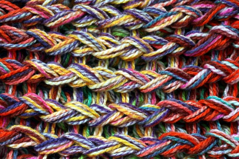 Download Покрашенная связанная текстура шерстей Стоковое Фото - изображение насчитывающей естественно, волокно: 81802820