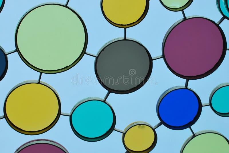 покрашенное стекло стоковая фотография rf