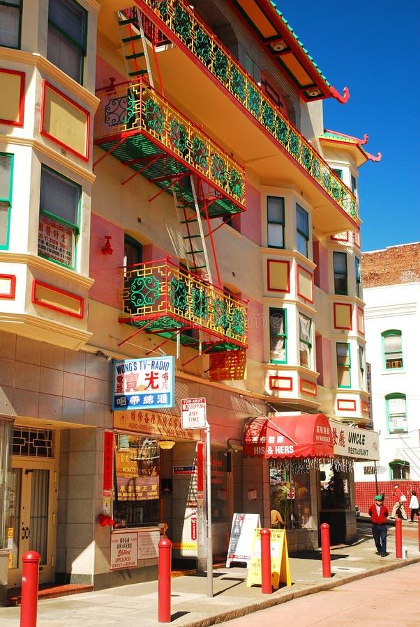 Покрашенные балконы стоковая фотография