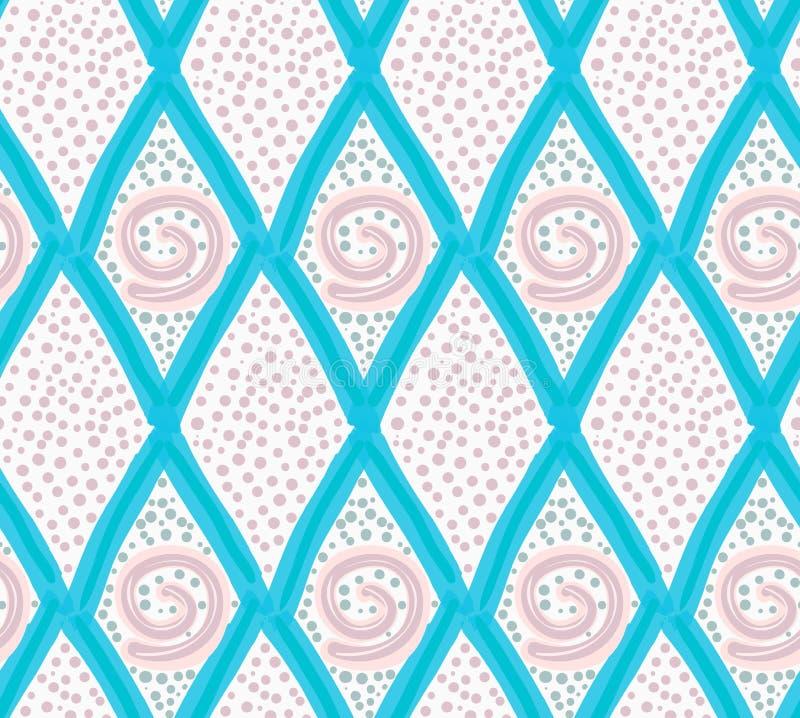 Покрашенные голубые диаманты и точки отметки бесплатная иллюстрация