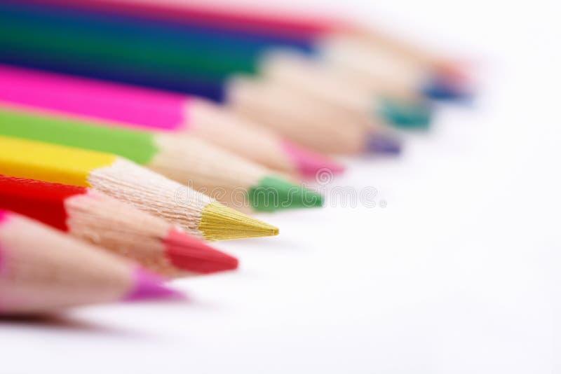 Download покрашенные карандаши стоковое изображение. изображение насчитывающей карандаши - 6859249