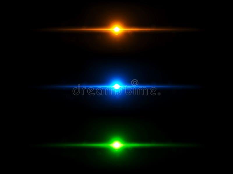 Покрашенные световые эффекты стоковое фото