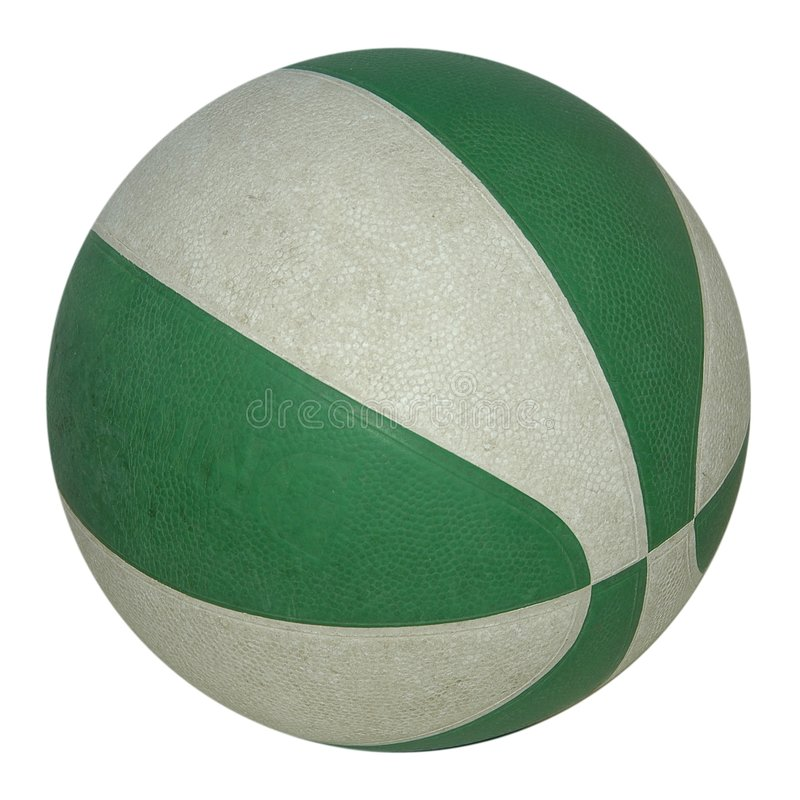 покрашенный баскетбол стоковые фото