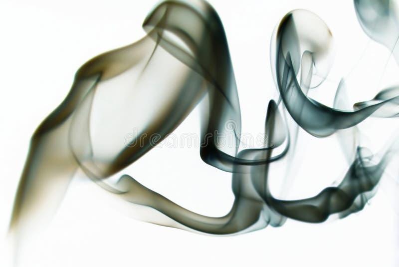покрашенный дым стоковое изображение rf