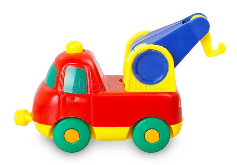 Покрашенный пластичный малолитражный автомобиль стоковая фотография