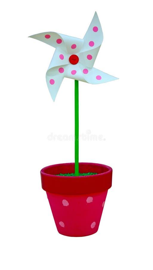 Покрашенный Pinwheel, игрушка стоковые изображения rf