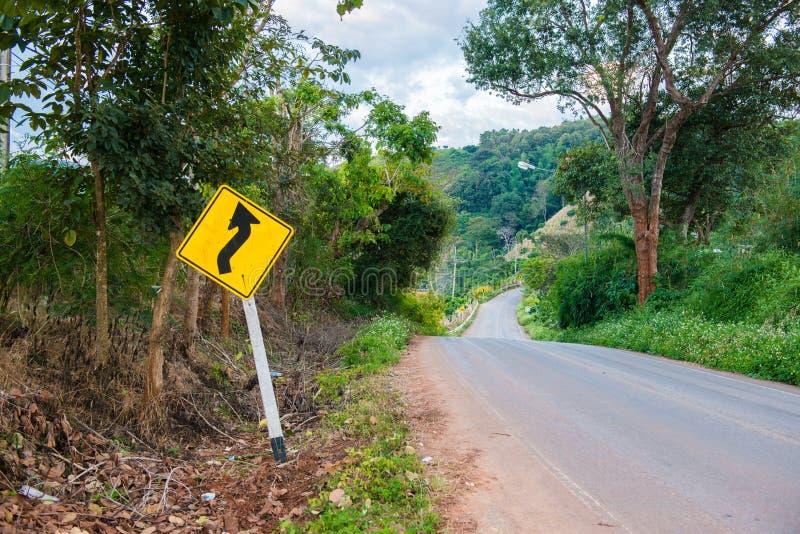 Покройте проселочную дорогу для того чтобы показать о дороге условия как locatio лабиринта стоковые изображения rf