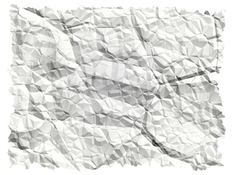покрошенная бумага иллюстрация вектора